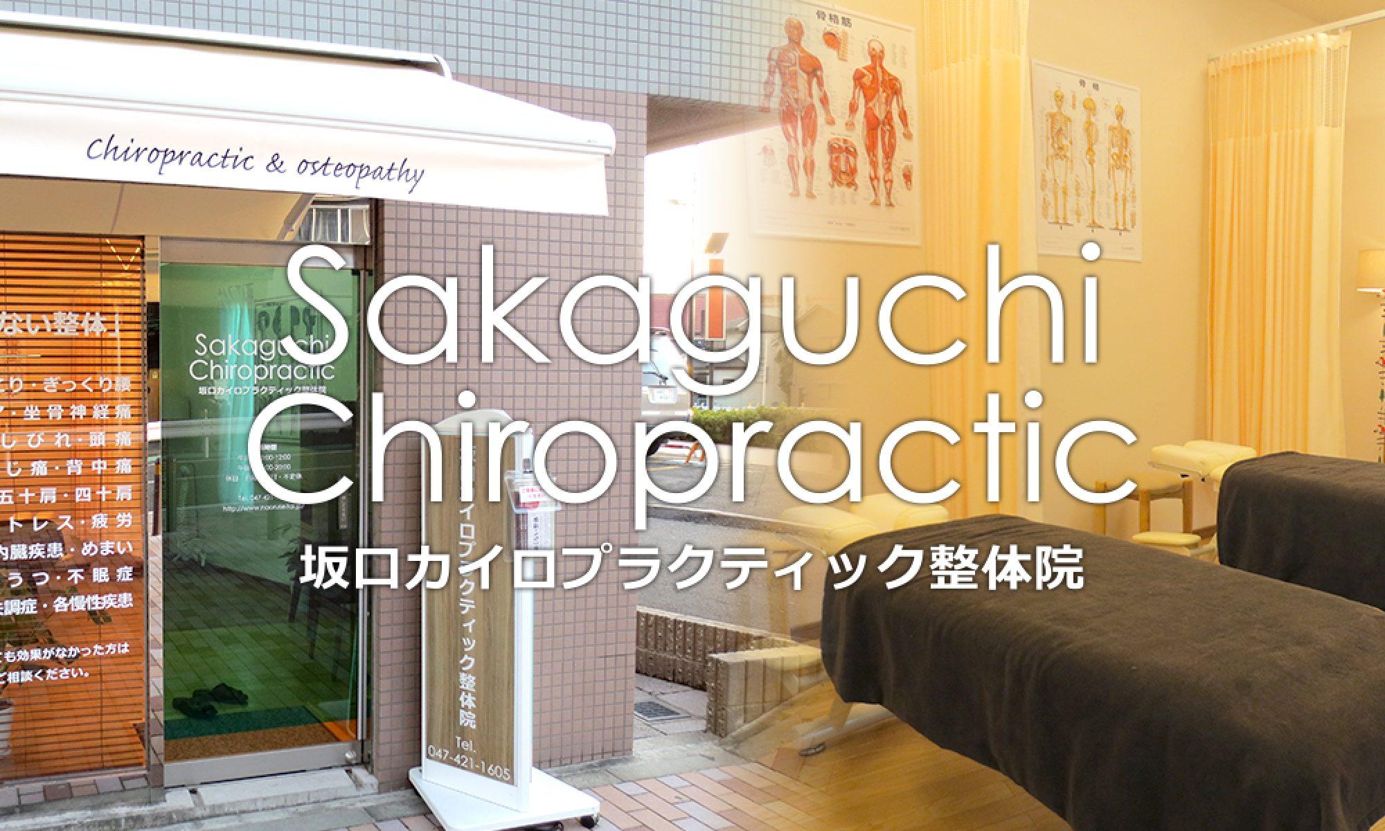 坂口カイロプラクティック整体院のブログ